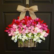 romatic outdoor wreaths for front door diy hanging outdoor