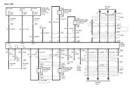 2003 2004 03 04 mustang mach 460 wiring diagram