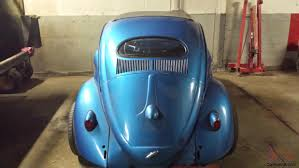 blue volkswagen beetle 1970 vw beetle rag top blue oval window restored great condition