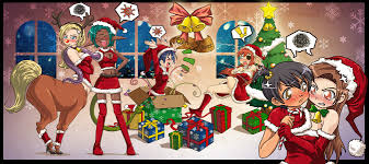 christmas party 2008 by gamera1985 on deviantart