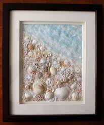 Decorating With Seashells In A Bathroom Best 25 Shell Art Ideas On Pinterest Seashell Art Seashell