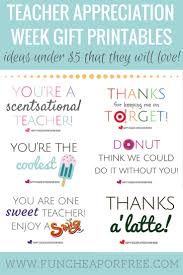 gift cards for cheap appreciation printables gifts 5 cheap or free
