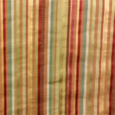 Stripe Drapery Fabric Prism Orange Stripe Faux Silk Drapery Fabric By Swavelle Mill