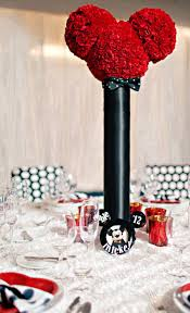 mickey mouse center pieces mickey mouse party inspiration the celebration society