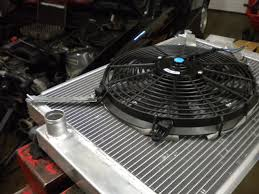 electric radiator fans and shrouds doing the fdm installing an aux fan read this archive