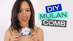 mulan hair comb a disney style diy mulan comb