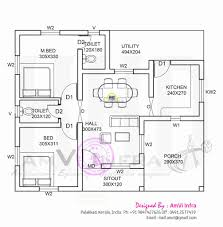 50 Unique 3 Bhk House Plans In Kerala House Plans Design 2018