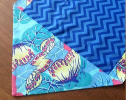 zig zag table runner zig zag table runners blue butterfly table runner small table runner