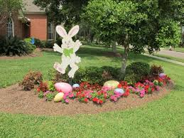 Easter Egg Outdoor Decorations by 38 Cute Easter Decoration Ideas For Your Garden