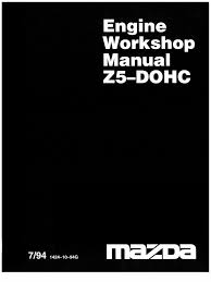 mazda 323 ba z5 dohc engine workshop manual 1994 1999r en