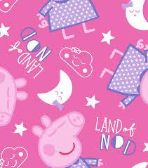 Bed Sheets For Summer Men U0027s Journal Peppa Pig Flannel Fabric 42 U0027 U0027 Land Of Nod Joann