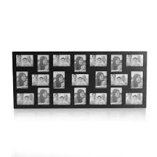 amazon com melannco mini 21 opening collage frame black home