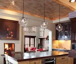 Kitchen Glass Pendant Lighting Lovely Glass Pendant Lighting For Kitchen Taste Pertaining To
