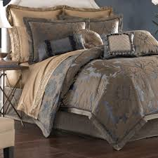 Damask Comforter Sets Sapphire Damask Comforter Bedding By Croscill