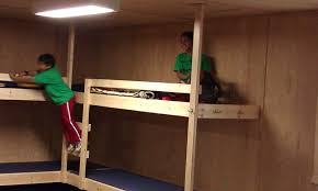 Youth Bunk Beds Plans Cabin Bunk Bed Plans