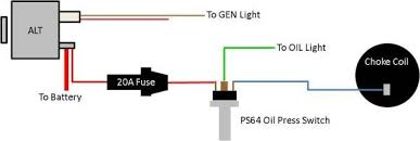 technical can someone explain this quadrajet choke wiring to me