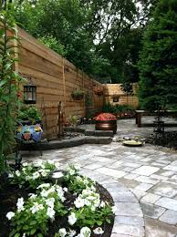 Small Patio Privacy Ideas by Patio Ideas Deck And Patio Ideas For Small Backyards Concrete