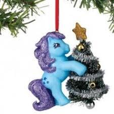 department 56 hasbro my pony cotton ornament