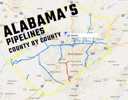 Shelby County Zip Code Map by Where Gas Pipelines Are In Your County Al Com