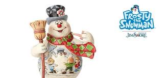 frosty snowman jim shore u2013 enesco gift shop