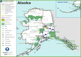 A Map Of Alaska by Alaska Highway Map My Blog