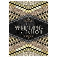 wordings gatsby art deco wedding invitations plus art nouveau