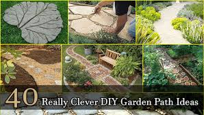 Garden Tips And Ideas 40 Really Clever Diy Garden Path Ideas