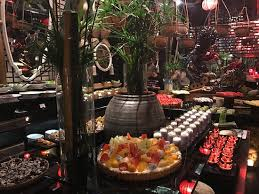 Buffet Set Up by Amazing Buffet Set Up In A Spectacular Vietnamese Atmosphere With