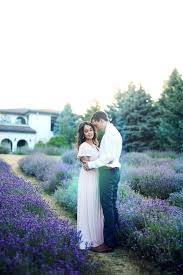 Photographer For Wedding Lavender Field Engagement Rovita Collin Photo 42