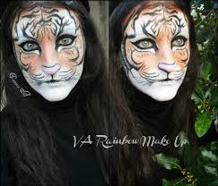 tiger make up face painting youtube theater makeup