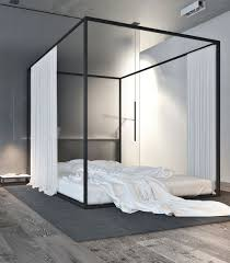 Modern Canopy Bed Frame Best 25 Modern Canopy Bed Ideas On Pinterest For Intended Popular