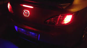 logo mazda 2016 my mazda 6 new led emblem youtube