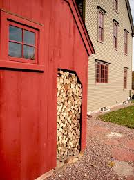 Red Shed Home Decor Rustic Garage And Shed Red Plank Wall Custom Deerfield Colonial