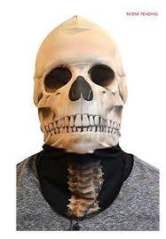 Skeleton Mask Faux Real Halloween Face Skeleton Mask One Size Fits Most U2013 Shop