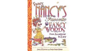 Montana travel synonyms images Fancy nancy 39 s favorite fancy words from accessories to zany by jpg