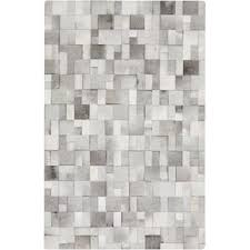 Checkered Area Rug Black And White Modern Cowhide Rugs Allmodern
