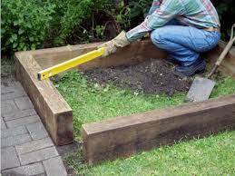how to build a simple raised bed u003e www hgtvgardens com life