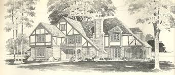 vintage house plans tudor antique alter ego