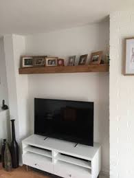 Floating Shelves Entertainment Center by 4cm I Think Shelfies Pinterest Oak Floating Shelves Rustic