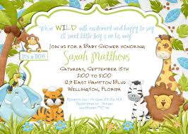 jungle baby shower invite jungle animals baby shower invitation baby boy lion giraffe