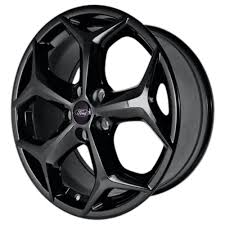 ford rims ford racing focus st wheel 18 x8 gloss black focus 2012 2017