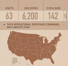 Salt Lake Zip Code Map by U S Army Reserve U003e Commands U003e Support U003e 76th Orc