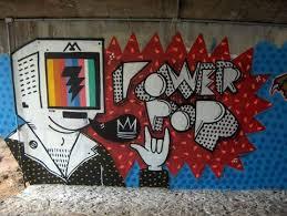 computer graffiti graffiti inspiration the rainbow computer chalk