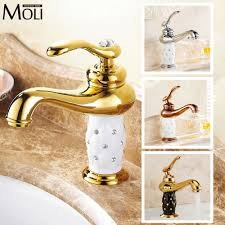 Gold Bathroom Faucets Gold Finish Bathroom Faucets Best Bathroom Decoration