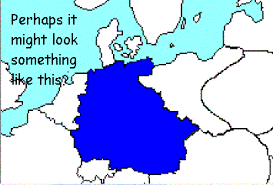 map germany austria wi austrian united germany alternate history discussion