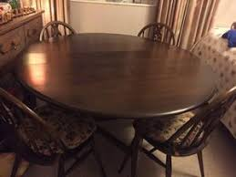 Ercol Dining Table And Chairs Dining Table And Chairs Ercol In Uckfield Expired Friday Ad