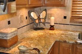 Orange Kitchen Design Kitchen With River Gold Granite U2013 Luxurious Accent Homesfeed