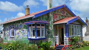 fairytale house in need of a paint job turned out to be a winner