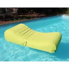canap gonflable piscine de piscine flottant wave gonflable canapé pouf pas cher