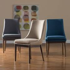 trendy modern upholstered dining room chairs with arms home